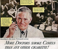 doctor smoking Health, Science, and Common Sense