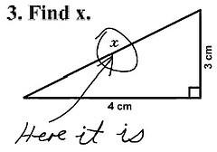 test answer